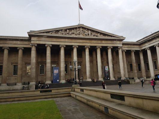 L'entrata del museo