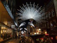 Illuminazioni Natalizie nei pressi di Oxford Street