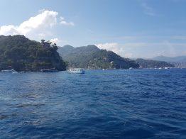 Scorci dal mare di Portofino