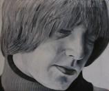 Brian Jones / 60 x 50 cm / huile sur toile