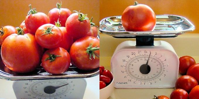 tomates para hacer Pasta al filetto di pomodoro
