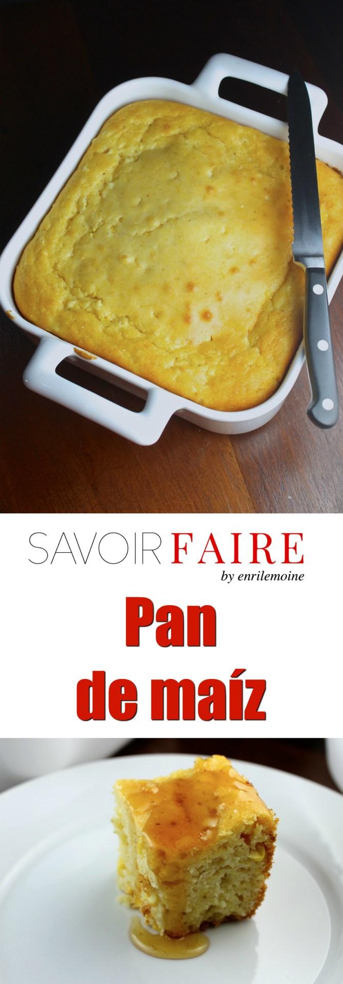 Pan de maíz - SAVOIR FAIRE by enrilemoine