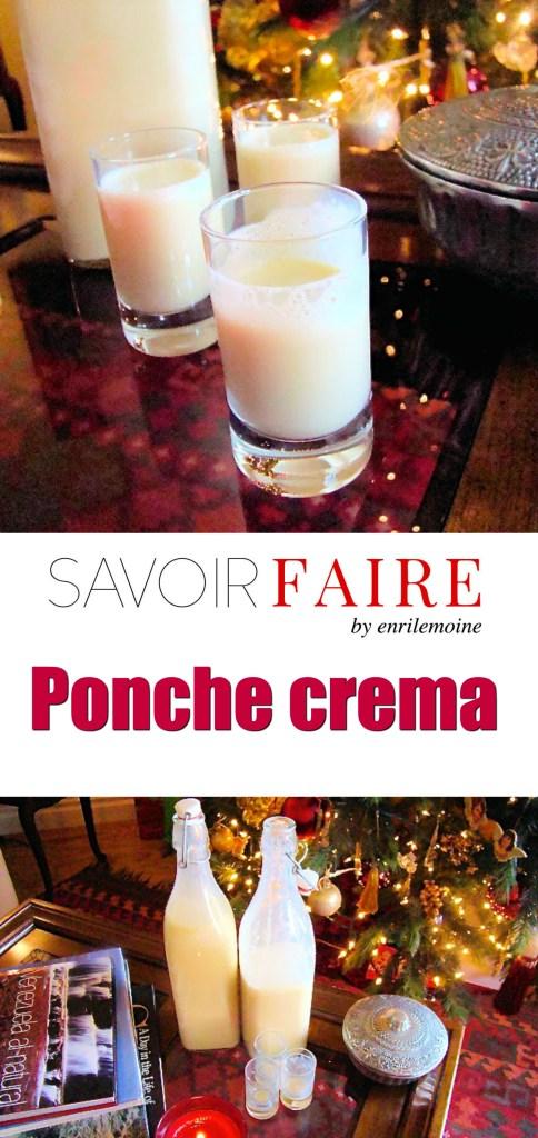 Ponche crema - SAVOIR FAIRE by enrilemoine