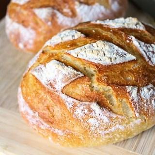 Cómo hacer pan campesino
