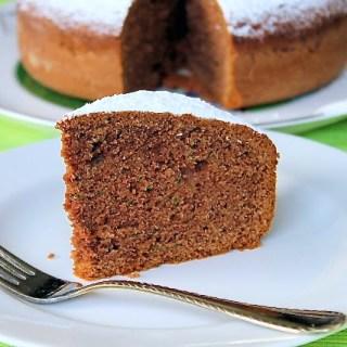 Torta de chocolate y calabacín