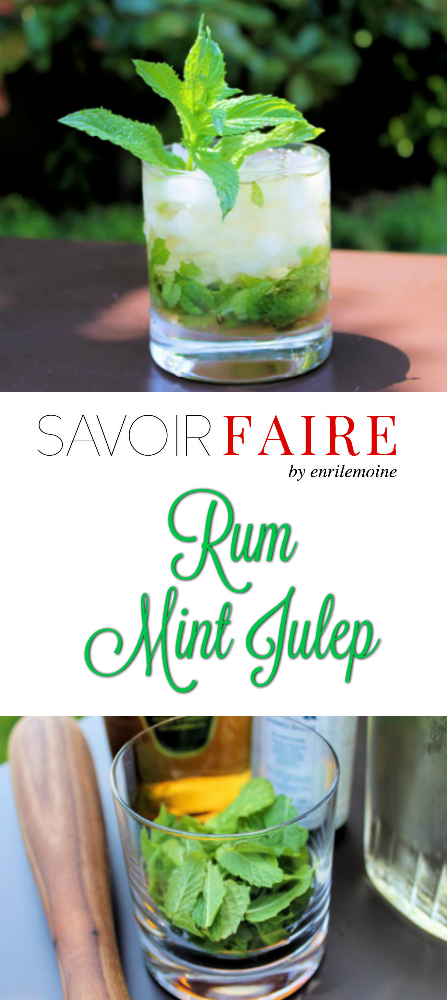 Añejo Mint Julep - SAVOIR FAIRE by enrilemoine