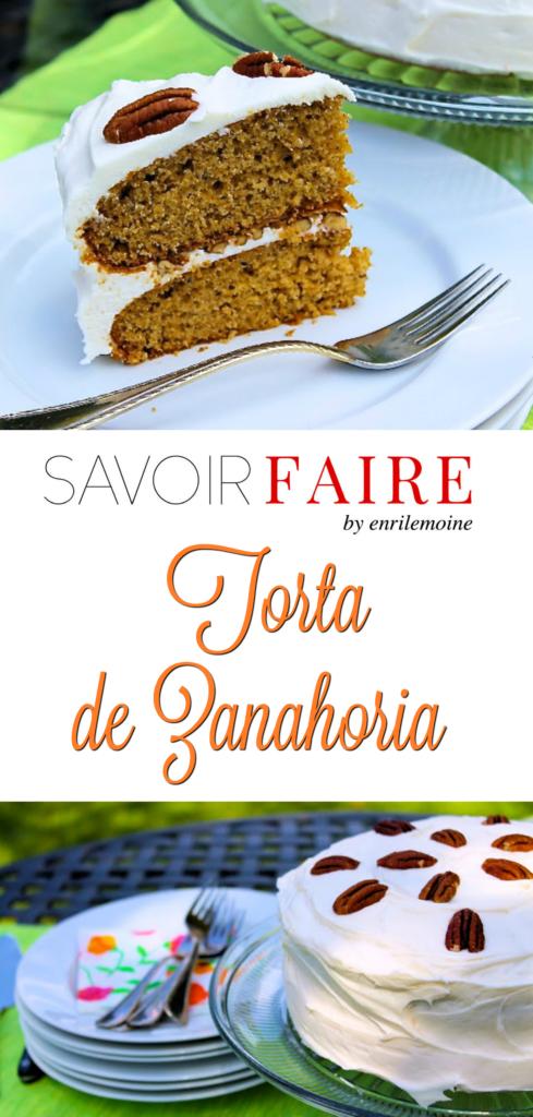 Torta de zanahoria - SAVOIR FAIRE by enrilemoine