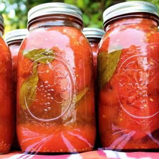 Cómo envasar tomates {más que amor frenesí}