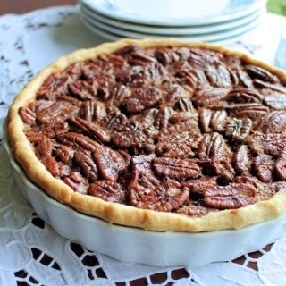 Rum Infused Pecan Pie