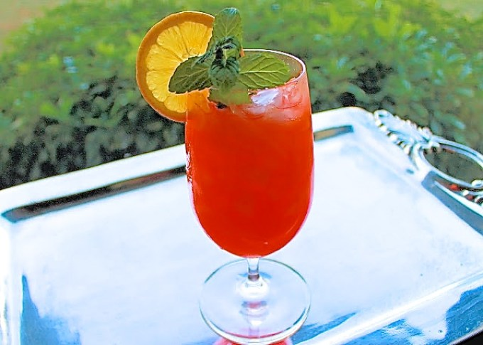 Witchy woman a rum cocktail