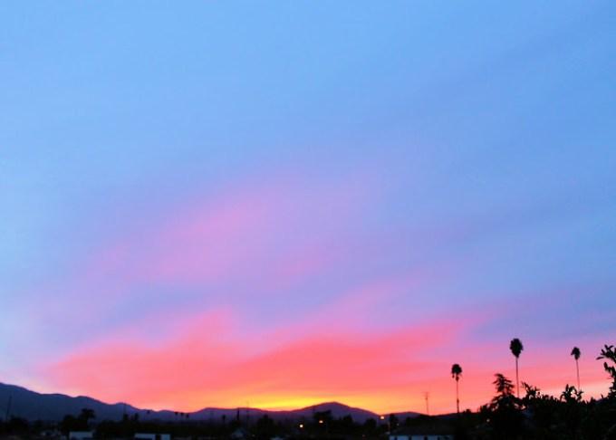 amanecer en el sur de California, sanar