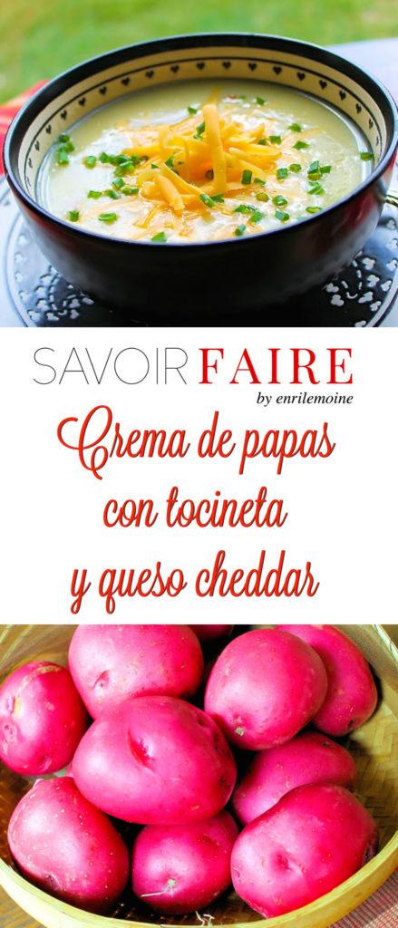 Crema de papas con tocineta - SAVOIR FAIRE by enriemoine