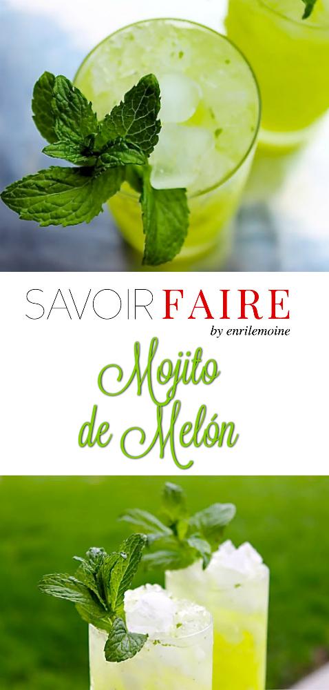 Mojito de melón - SAVOIR FAIRE by enrilemoine