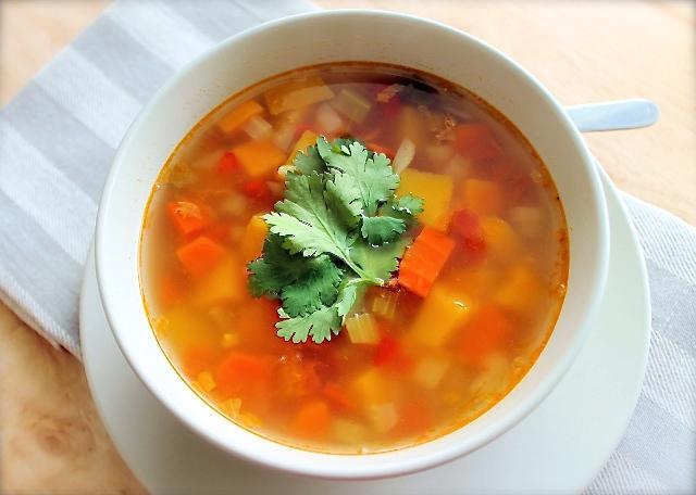 Sopa de siete vegetales