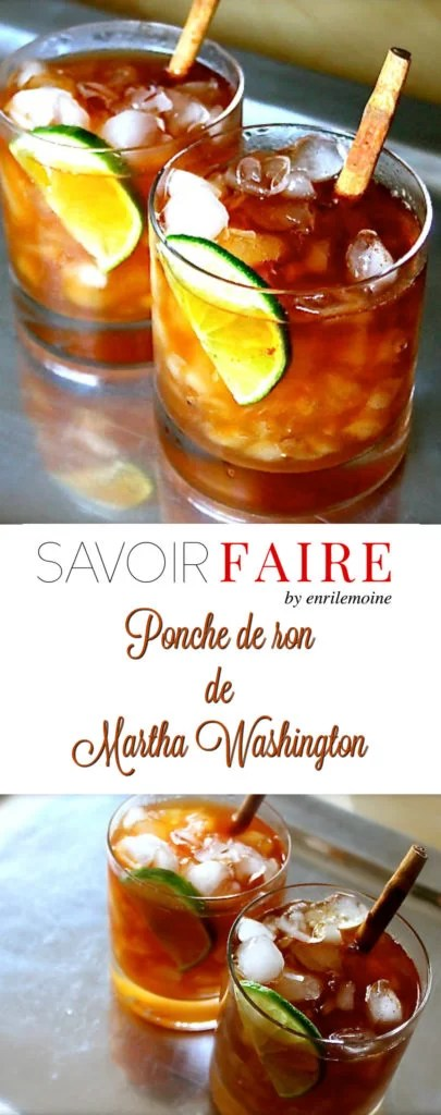 Ponche de ron de Martha Washington - SAVOIR FAIRE by enrilemoine