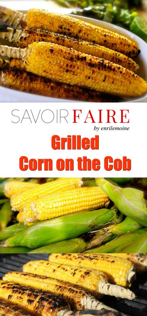 Grilled corn on the cob - SAVOIR FAIRE by enrilemoine