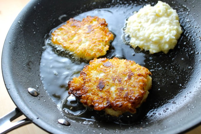 rice & cheese fritters