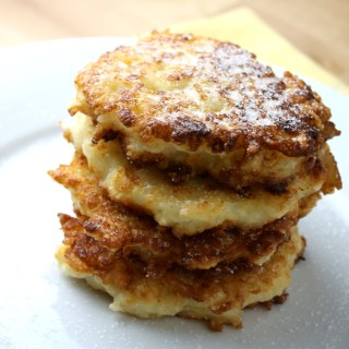 Leftover Rice & Cheese Fritters