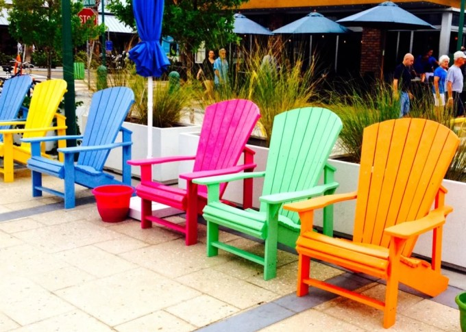 Adirondack chairs, Lauderdale by the Sea