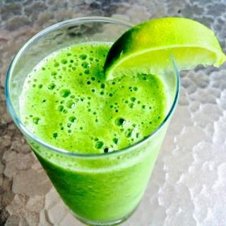 Batido verde (que te quiero verde)