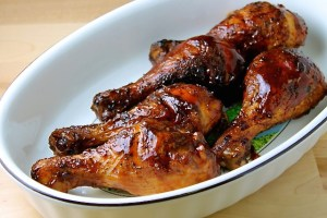 BBQ Chicken thighs to lick your fingers - SAVOIR FAIRE by enrilemoine