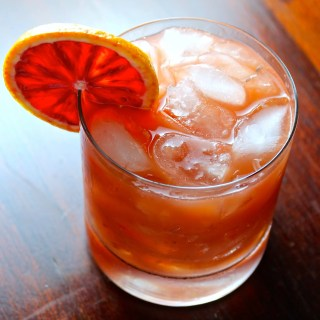 Sanguina {Rum, Blood Orange and bitters cocktail}