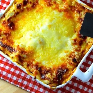 Lasagna Bolognese with Beef and Pork