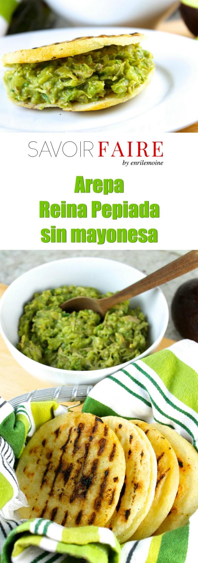 Arepa Reina Pepiada - SAVOIR FAIRE by enrilemoine