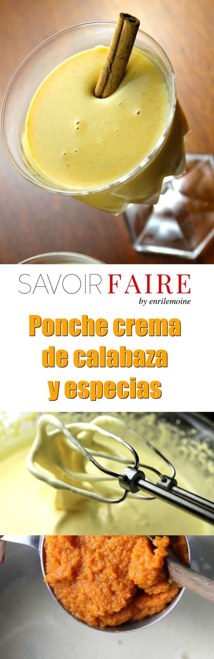 Ponche crema de calabaza y especias - SAVOIR FAIRE by enrilemoine