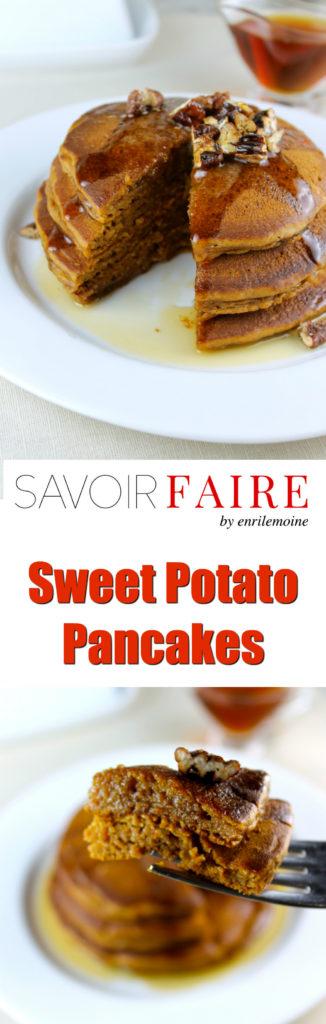 Sweet Potato Pancakes - SAVOIR FAIRE by enrilemoine