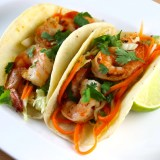 Shrimp Tacos with Hot Sauce - SAVOIR FAIRE by enrilemoine