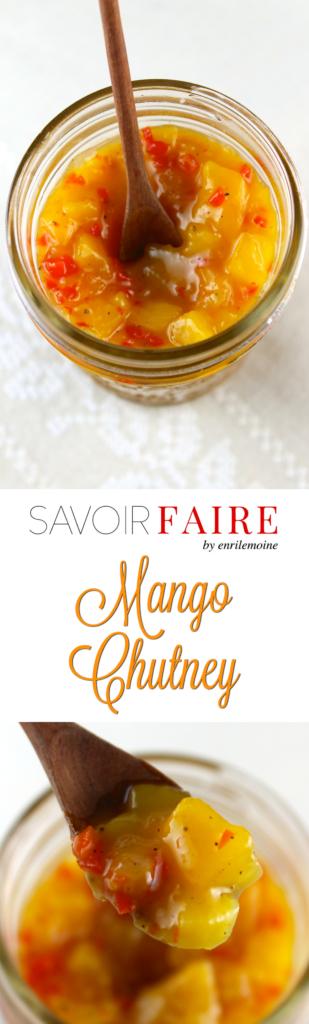 Mango Chutney - SAVOIR FAIRE by enrilemoine