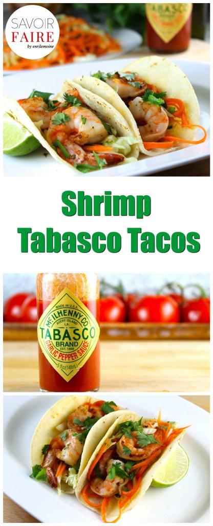 Shrimp Tacos with Hot Sauce - SAVOIR FAIRE by enrilemoine