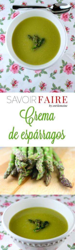 Crema de espárragos - SAVOIR FAIRE by enrilemoine