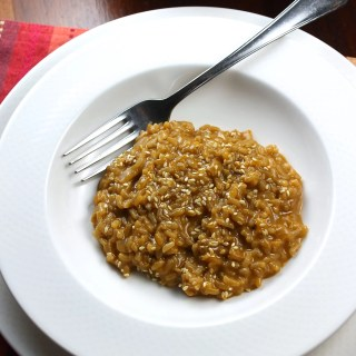 Creamy Mole Risotto Recipe