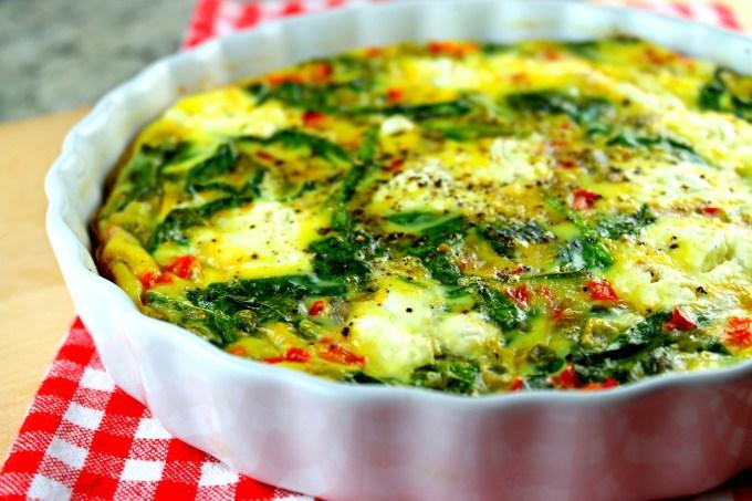 Crustless Spinach Quiche - SAVOIR FAIRE by enrilemoine