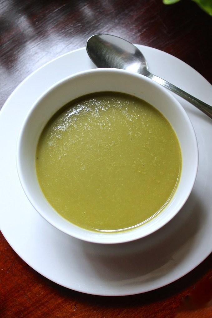 sopa de espinaca, crema de espinacas, sopa de crema de espinaca, sopa berde