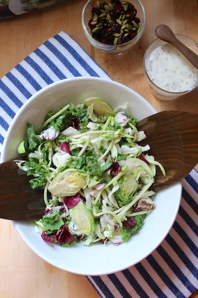 ensalada de siete vegetales