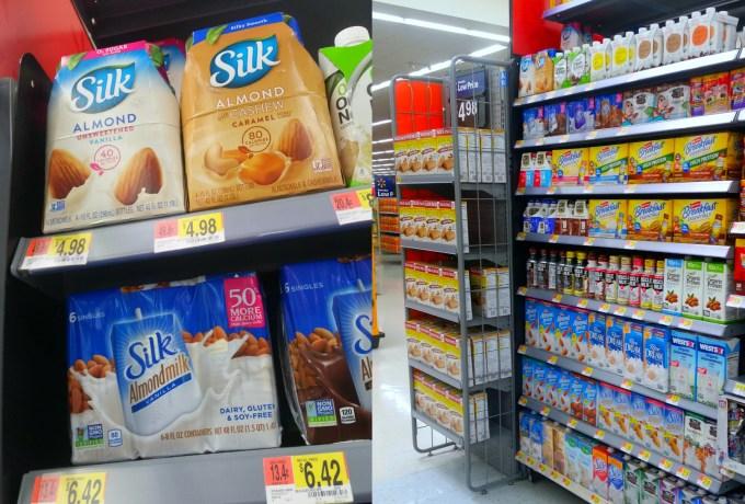 Silk leche de almendras en Walmart