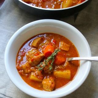 Goulash-Style Pork Stew + VIDEO