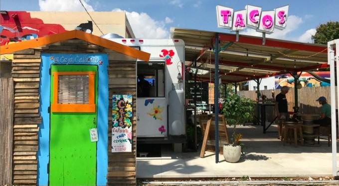 Taquerías Miami, Caja Caliente