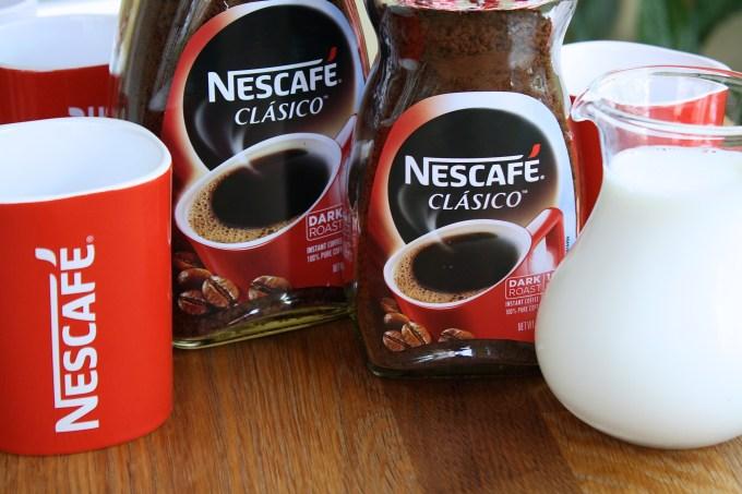 ingredientes para hacer café helado cremoso con nescafé