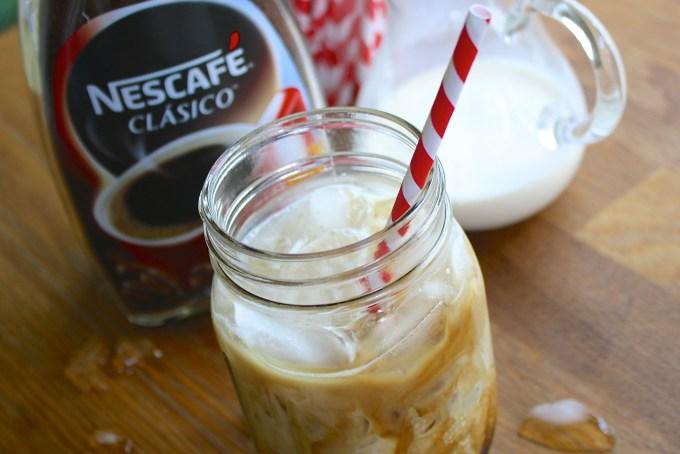 Café helado, café frío, nescafé