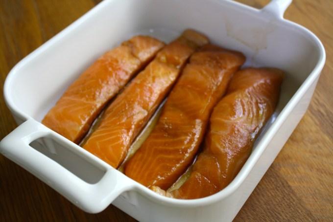 Salmón marinado by enrilemoine