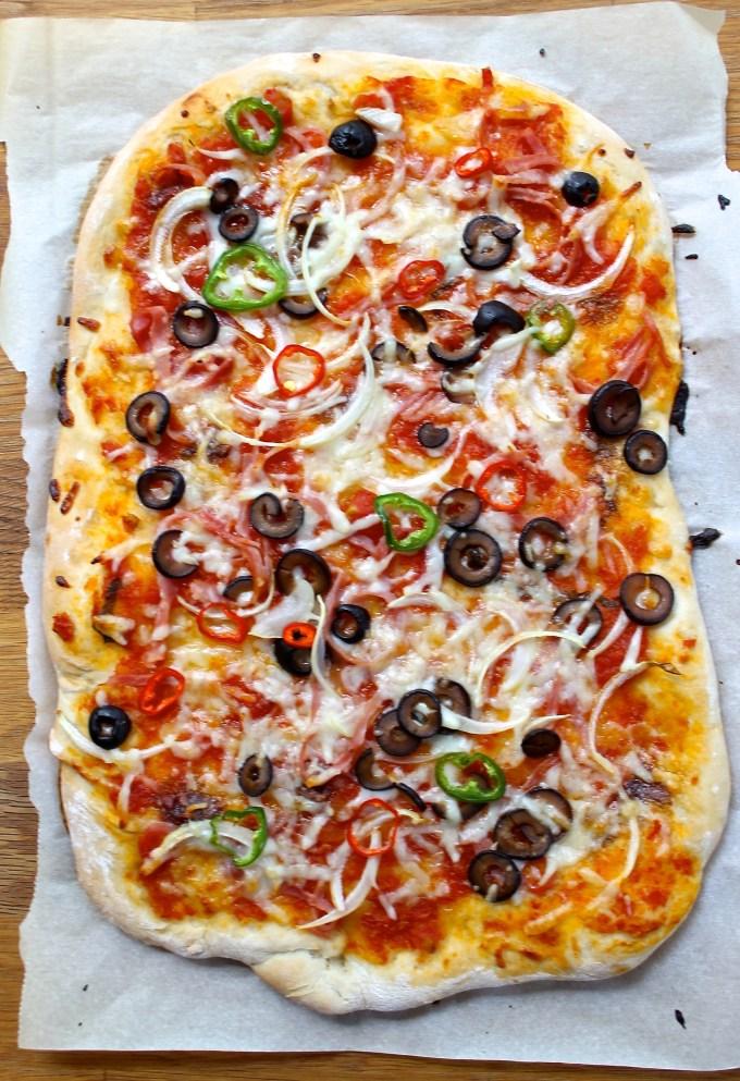 Jalapeño and Serrano Pepper Pizza