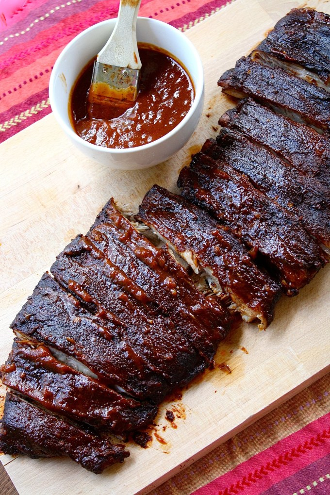 Rum and Mustard BBQ Pork Ribs