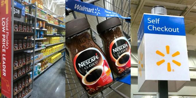 Nescafé en Walmart