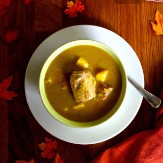 Split Pea Soup with Pork Ribs