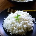 Loose white rice by enrilmoine