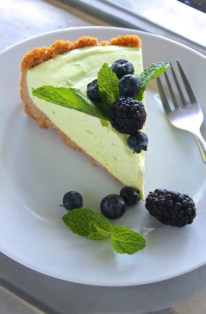 No-bake mojito cheesecake by enrilemoine